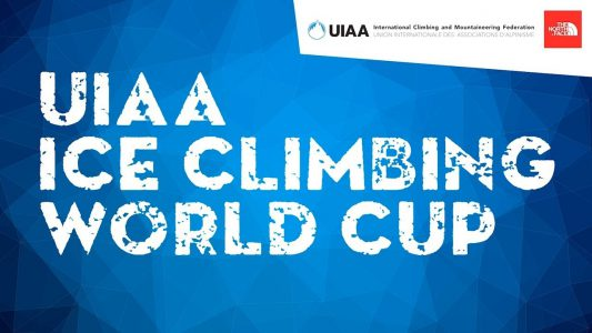 MARCH 2018: Technical partner of the UIAA 2018 Ice Climbing World Cup final stage and European Championship in Kirov, Russia