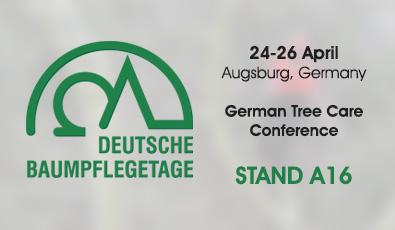 APRIL 2018: Meet us at the Deutsche Baumpflegetage in Augsburg