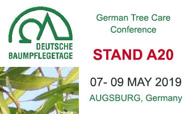MAY 2019 : Let's meet at Deutsche Baumpflegetage trade show