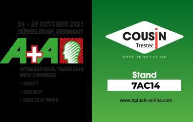 Octobre 2021 : Rendez-vous au Salon A+A, Stand n°7AC14