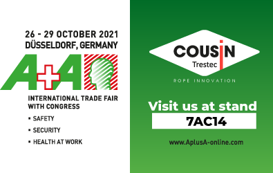 October 2021 : Meet us at the A+A trade fair in Dusseldorf